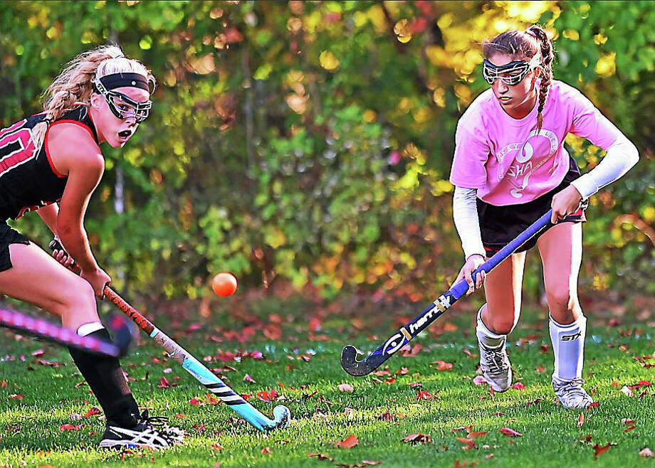 The Cheshire Rams defeated the Sacred Heart Pacers, 2-0 on Tuesday, October 20, 2015 at Sacred Heart Academy in Hamden. Photo: Catherine Avalone -- New Haven Register