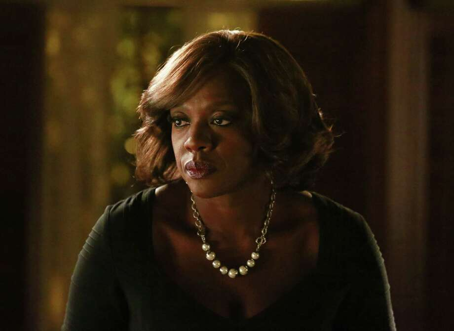 """In this image released by ABC, Viola Davis appears in a scene from """"How To Get Away With Murder."""" Photo: Mitchell Haaseth/ABC Via AP   / American Broadcasting Companies, Inc."""