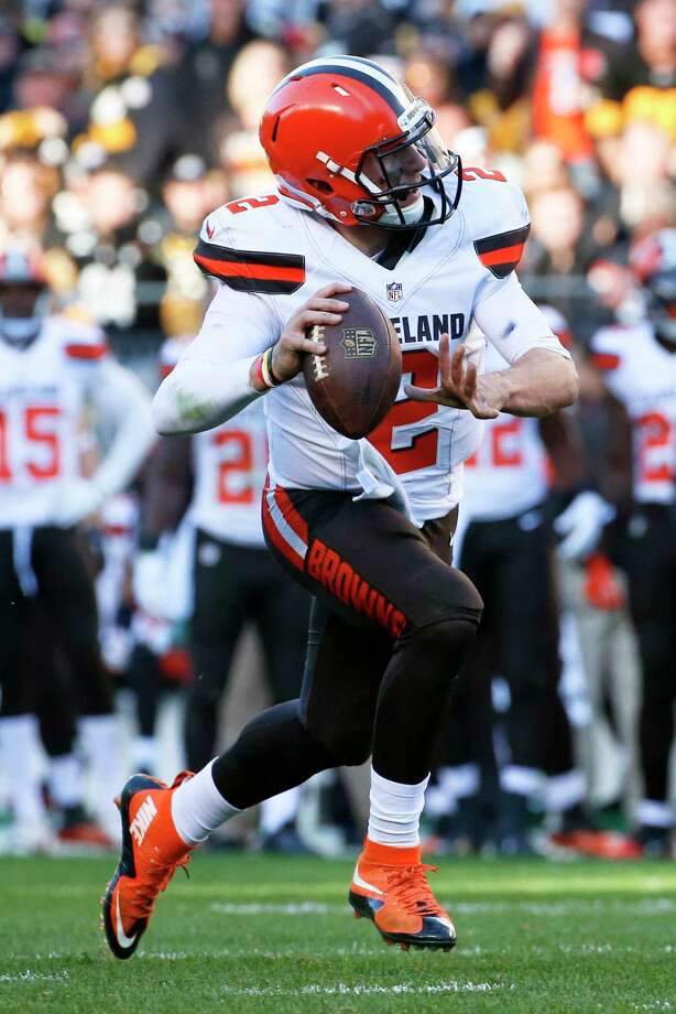 Cleveland Browns quarterback Johnny Manziel will be the starter for the rest of the season. Photo: Gene J. Puskar — The Associated Press   / AP