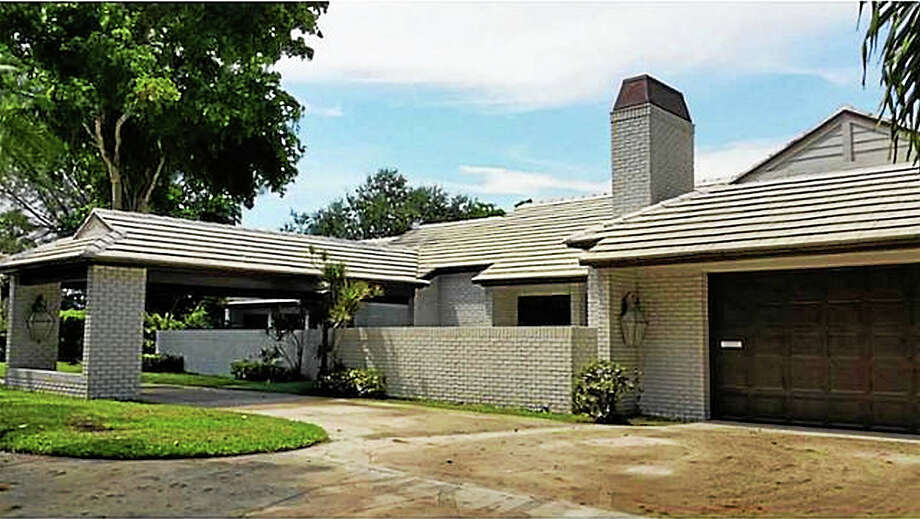 Jackie Gleason's former home in Lauderhill, Florida. Photo: Journal Register Co.