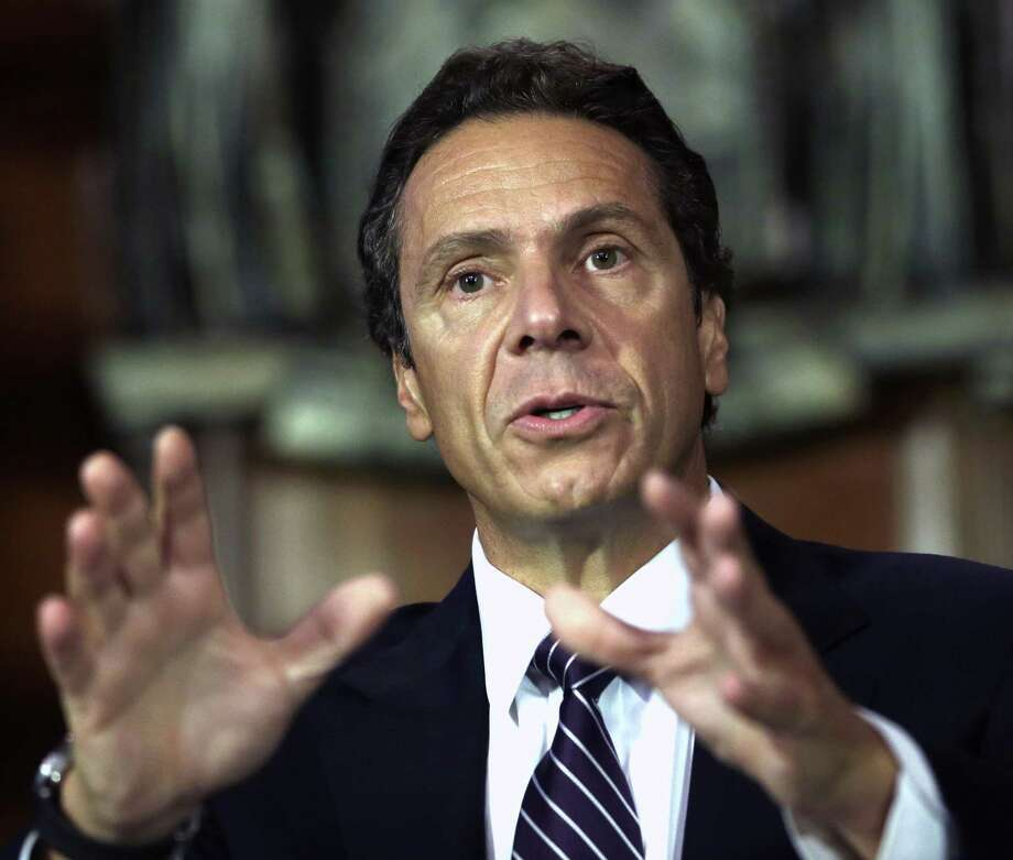 In this Sept. 19, 2012, file photo New York Gov. Andrew Cuomo speaks during a news conference in the Red Room at the Capitol in Albany, N.Y. Photo: AP Photo   / AP