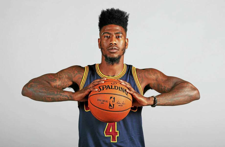 Cleveland Cavaliers guard Iman Shumpert delivered his fiancee's baby on Wednesday. Photo: The Associated Press File Photo   / AP 2015