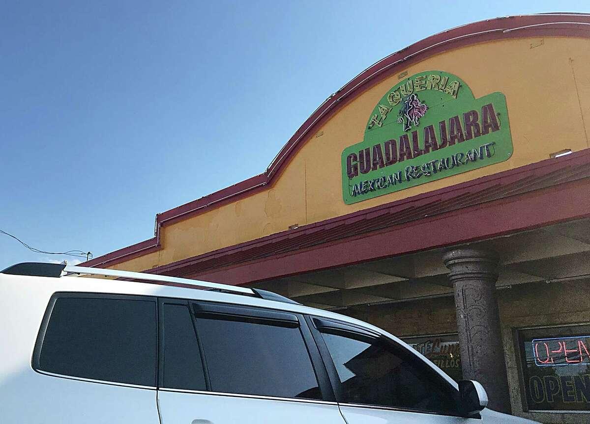 Taqueria Guadalajara #3 on Goliad Road.