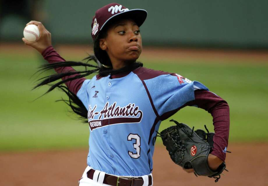 Mo'ne Davis was the talk of the sports world and beyond after becoming the first female to win a game in the Little League World Series. Photo: Gene J. Puskar — The Associated Press File Photo   / AP