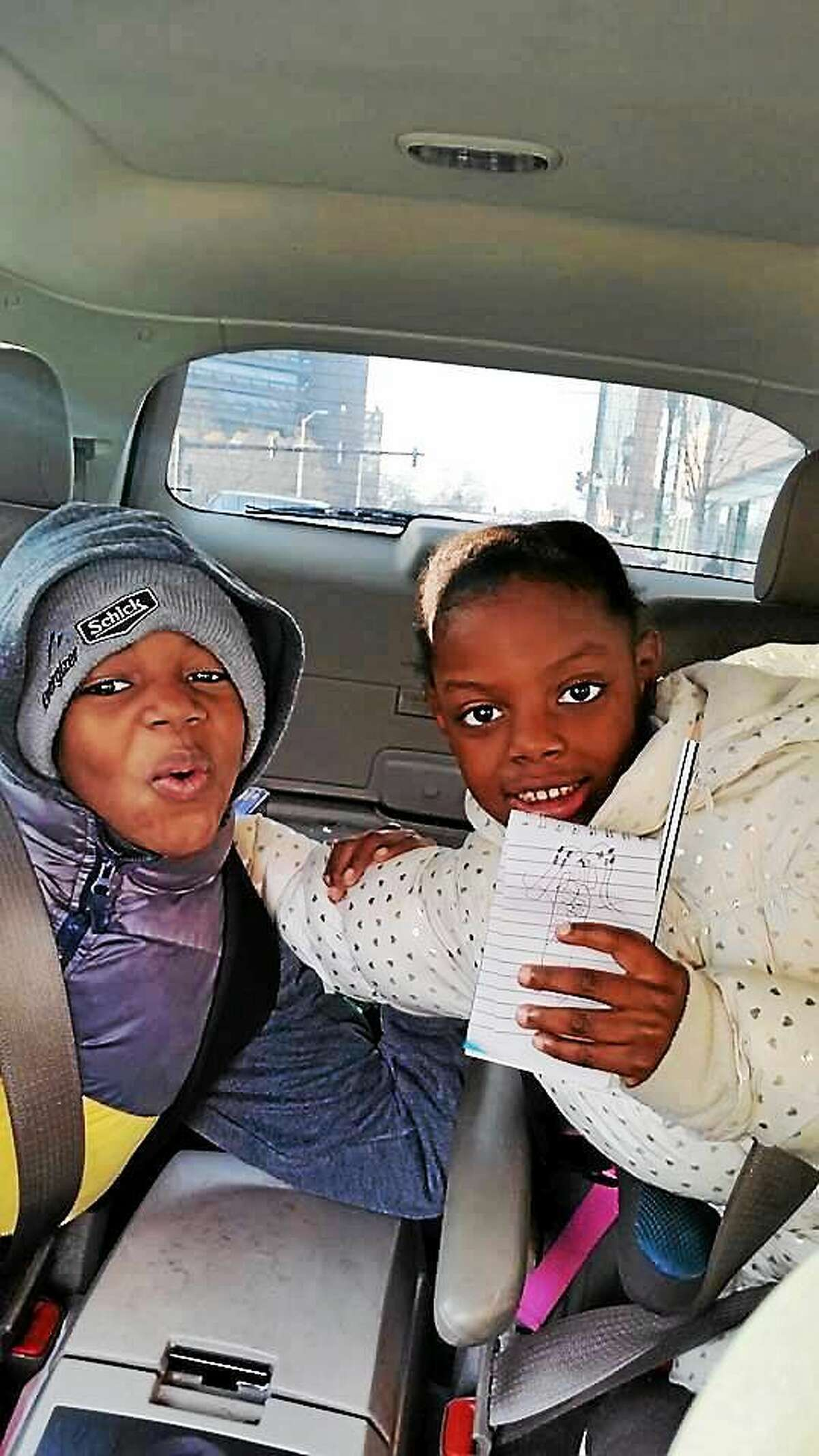 Daaron Moore and Aleisha Moore, in a photo from the Facebook page of LeRoya Moore.