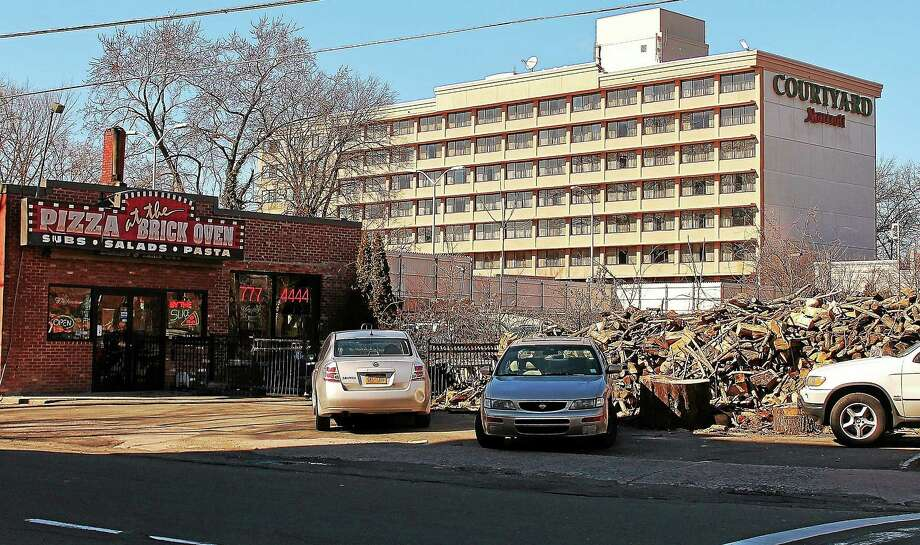Courtyard Marriott New Haven at Yale on Whalley Avenue. Photo: Evan Lips — New Haven Register File Photo