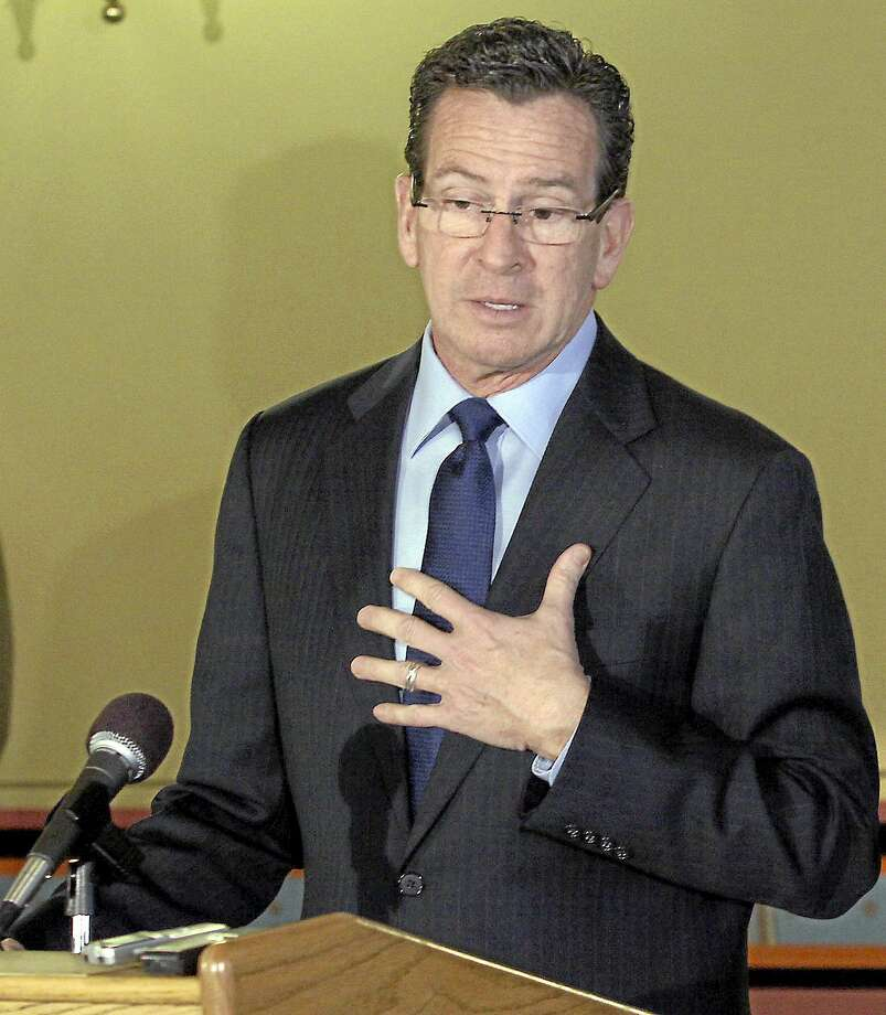 Gov. Dannel P. Malloy Photo: New Haven Register File Photo / Journal Inquirer