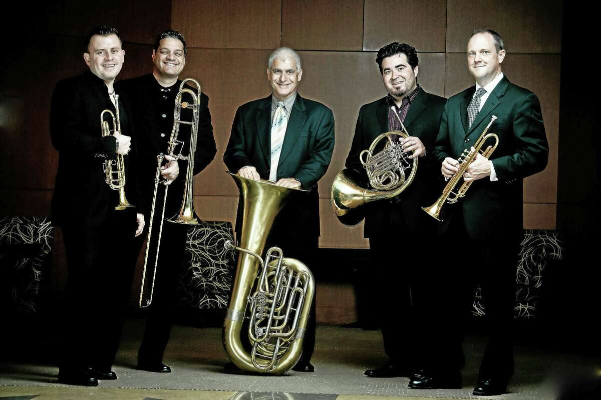 Contributed photo The George Flynn Classical Concerts series will be presenting the Boston Brass at the William Stanton Andrews Memorial Town Hall in Clinton.
