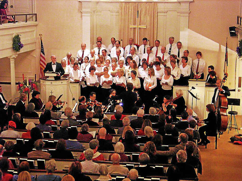 The Branford Messiah Community Chorus will perform at the First Congregational Church of Branford. Photo: Contributed