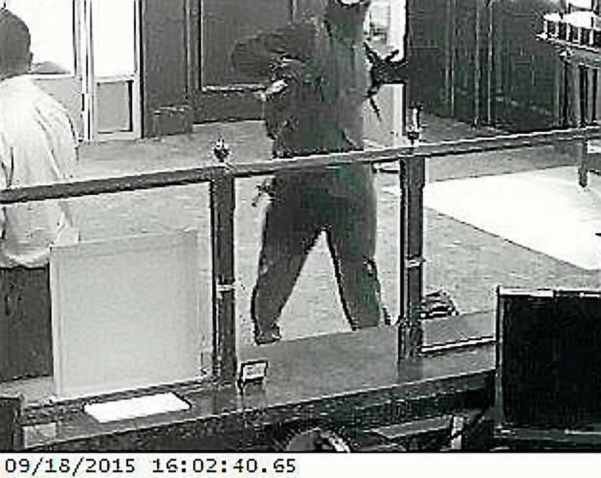 Police are looking for this man who they say robbed the Citizens Bank on Boston Post Road in Orange of an undetermined amount of money Friday.