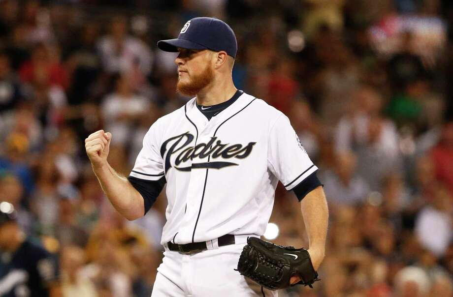 The San Diego Padres traded closer Craig Kimbrel to the Boston Red Sox on Friday. Photo: Lenny Ignelzi — The Associated Press File Photo   / AP