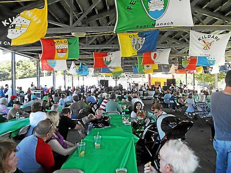 Milford Irish Festival  A moment from last year's colorful Irish Festival at Fowler Pavilion. Photo: Journal Register Co.