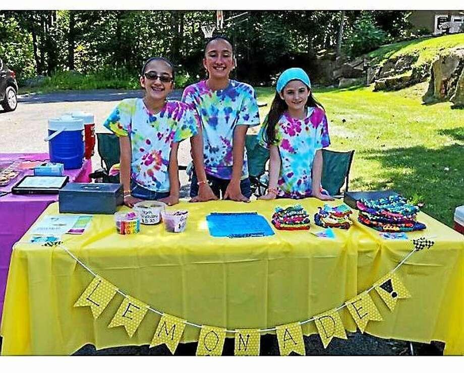 Left to right: Alex D'Amico, Emma D'Amico and Megan Loiacano Photo: Contributed Photo