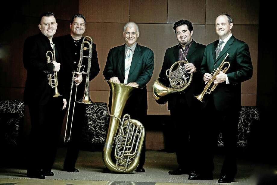 Boston Brass will play Sunday afternoon in Clinton. Photo: Contributed   / Pines Photo Studio