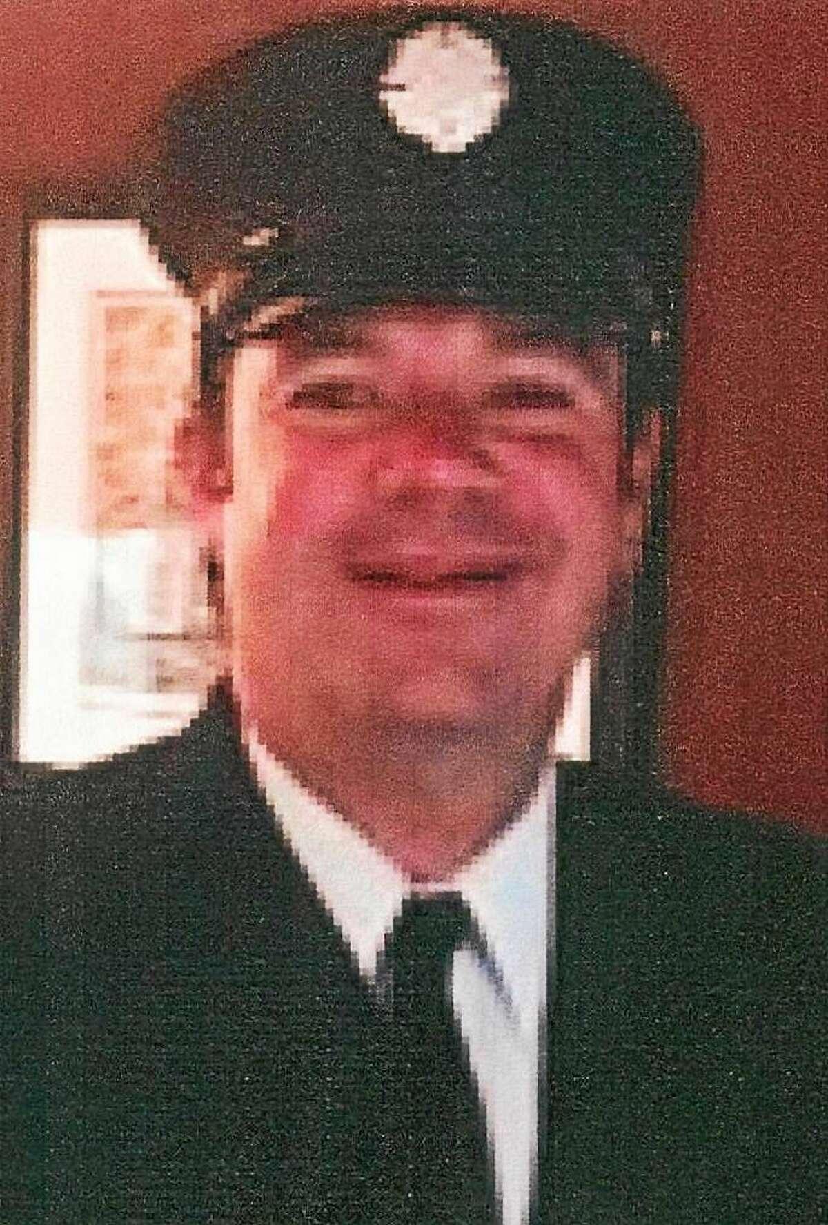 Firefighter Michael Ciaburro