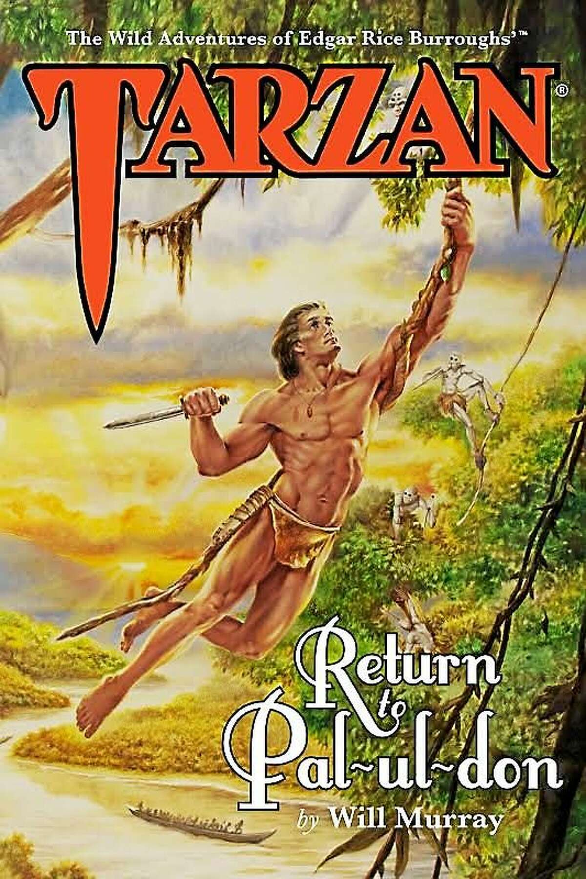 """The cover of the recently released """"Tarzan: Return to Pal-ul-don."""""""