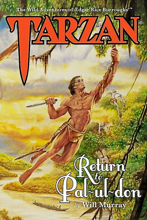 """The cover of the recently released """"Tarzan: Return to Pal-ul-don."""" Photo: Journal Register Co."""