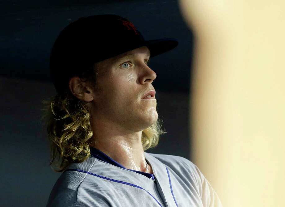 New York Mets starter Noah Syndergaard will take the mound for Game 2 of the NLCS. Photo: Gregory Bull — The Associated Press   / AP