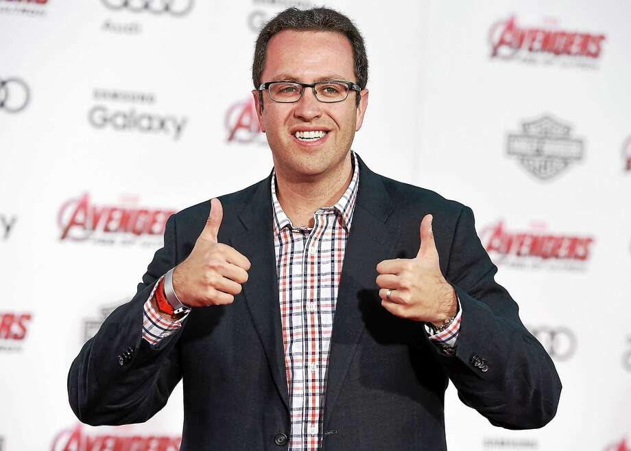 Subway pitchman Jared Fogle is expected to plead guilty to child-pornography charges, according to a TV report. Photo: Associated Press Photo / Invision
