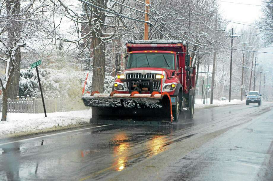Snow emergencies can cause highways and local roadways to be closed. Even after the roadways are open, your team members may have difficulties getting to work. Photo: Gillian Jones — The Berkshire Eagle