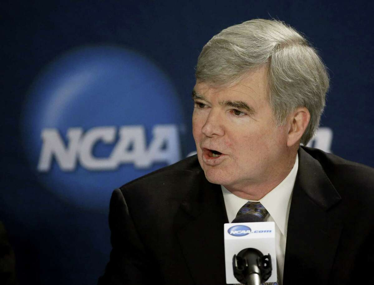 The National Labor Relations Board has dismissed a historic ruling that Northwestern University football players are school employees who are entitled to form what would be the nation's first union of college athletes. The NLRB released its decision Monday and the losing side does not have an option to appeal. Pictured is NCAA President Mark Emmert.