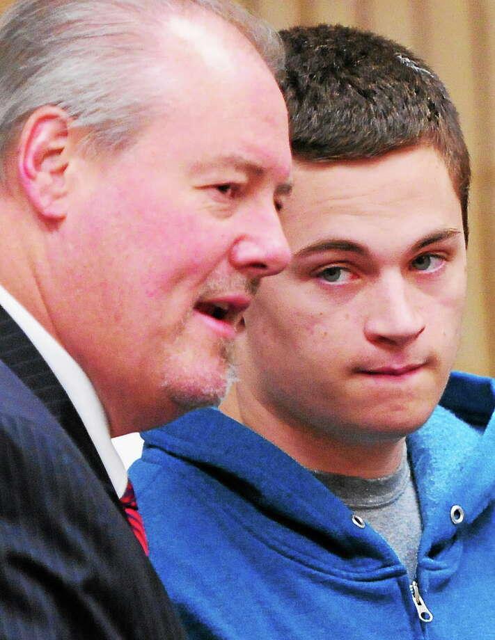 Christopher Plaskon appears in court May 2, 2014. Photo: Peter Hvizdak — New Haven Register FILE PHOTO   / ©Peter Hvizdak /  New Haven Register