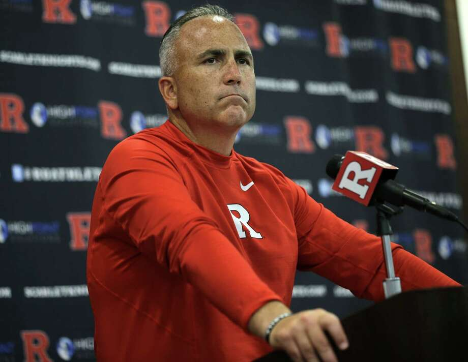 Rutgers has suspended football coach Kyle Flood for three games after he contacted a faculty member over a playerís status. Photo: Mel Evans — The Associated Press   / AP