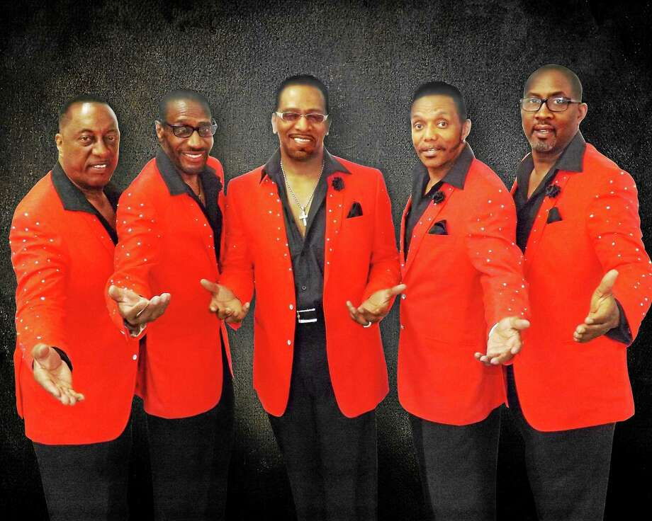 Sing and dance along with A Temptations Review, the Saturday night Savin Rock Festival headliners. Photo: Contributed