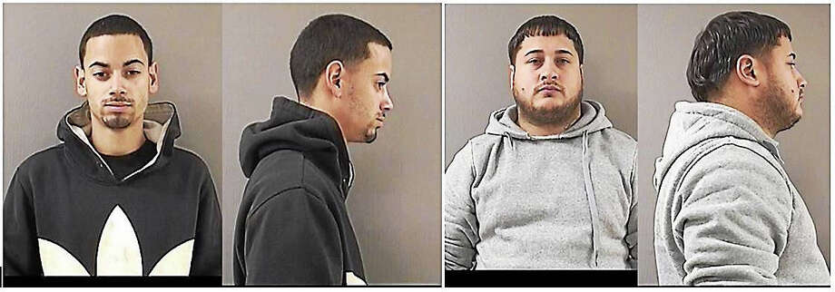 Jonuel Mojica and Luis Santos Photo: Photos Courtesy Of Wallingford Police Department