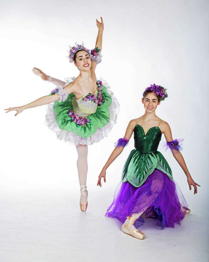 Julianne, left, and Alyssa Frechette of New Haven will dance at The Klein in Bridgeport. Photo: David Kent