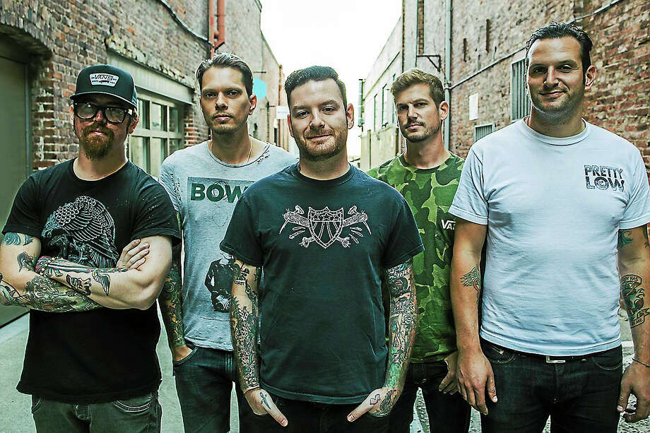 Contributed   The group Senses Fail. Photo: Journal Register Co.