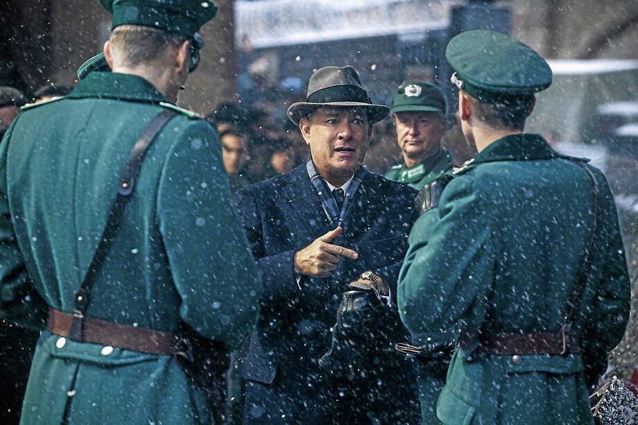 """Brooklyn lawyer James Donovan (Tom Hanks) is an ordinary man placed in extraordinary circumstances in """"Bridge Of Spies,"""" directed by Steven Spielberg. Photo: Jaap Buitendijk - DreamWorks II Distribution Co.   / ©DreamWorks II Distribution Co., LLC and Twentieth Century Fox Film Corporation. All Rights Reserved."""