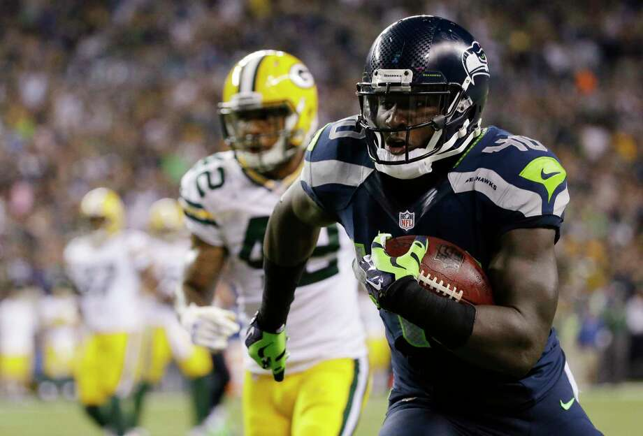 Seattle Seahawks fullback Derrick Coleman has been arrested and is under investigation of vehicular assault and felony hit-and-run. Photo: Elaine Thompson — The Associated Press File Photo   / AP