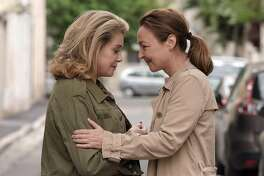 """Catherine Deneuve and Catherine Frot in """"The Midwife."""""""