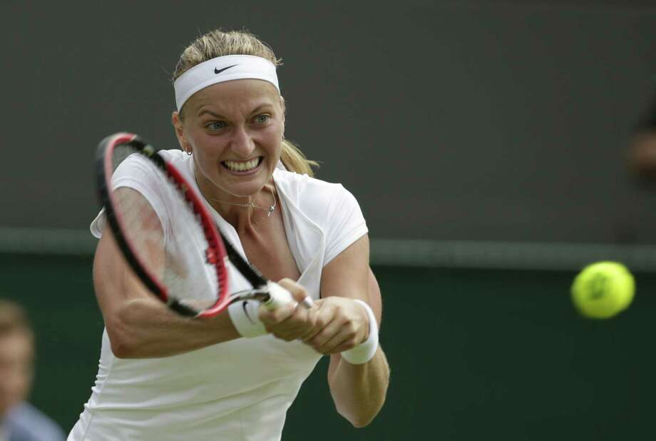 Defending champion Petra Kvitova will headline next month's Connecticut Open. Photo: Alastair Grant — The Associated Press   / AP