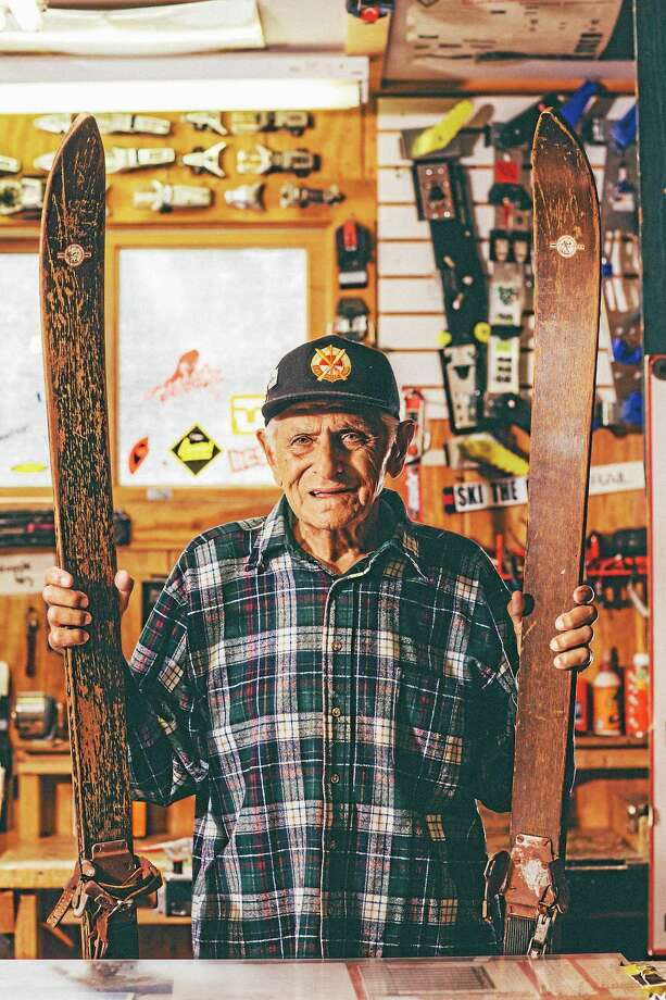 Joe Lahout, 93, whose father, a Lebanese immigrant, opened the store in 1920. Photo: Christopher Baldwin    / Christopher Baldwin