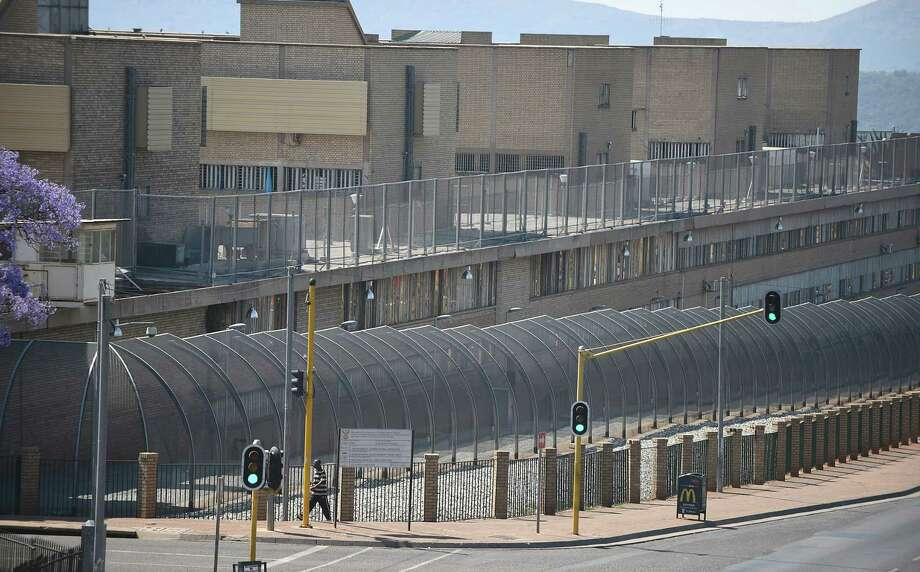 This Tuesday, Oct. 21, 2014, file photo shows  the Kgosi Mampuru Correctional Services prison in Pretoria, South Africa where Oscar Pistorius has been kept since his imprisonment for killing his girlfriend Reeva Steenkamp. South Africa's Department of Corrections says a parole board has decided that Oscar Pistorius can be released from prison and moved to house arrest on Tuesday, Oct, 20 2015. The parole board made the decision Thursday, Oct. 15, 2015 after an initial decision to release the double-amputee runner in August was canceled. Photo: AP Photo, File    / AP