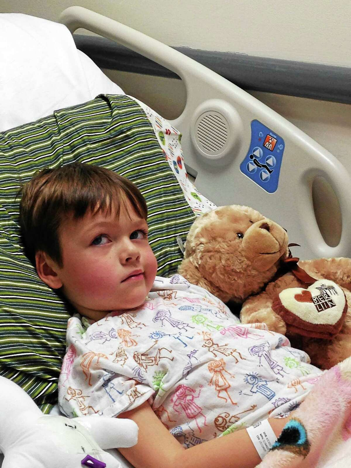 A fundraiser will be held Monday in West Haven for Mickey Macholl, 4, who has a rare and aggressive form of cancer.