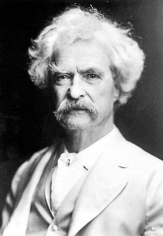 Mark Twain Photo: AP Photo--The Mark Twain House & Museum