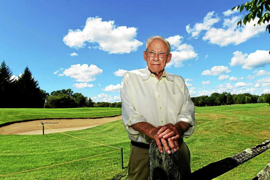 "Walter ""Bud"" Smith at his Orange Hills Country Club (August 13, 2015.) Photo: Peter Hvizdak - New Haven Register   / ?2015 Peter Hvizdak"