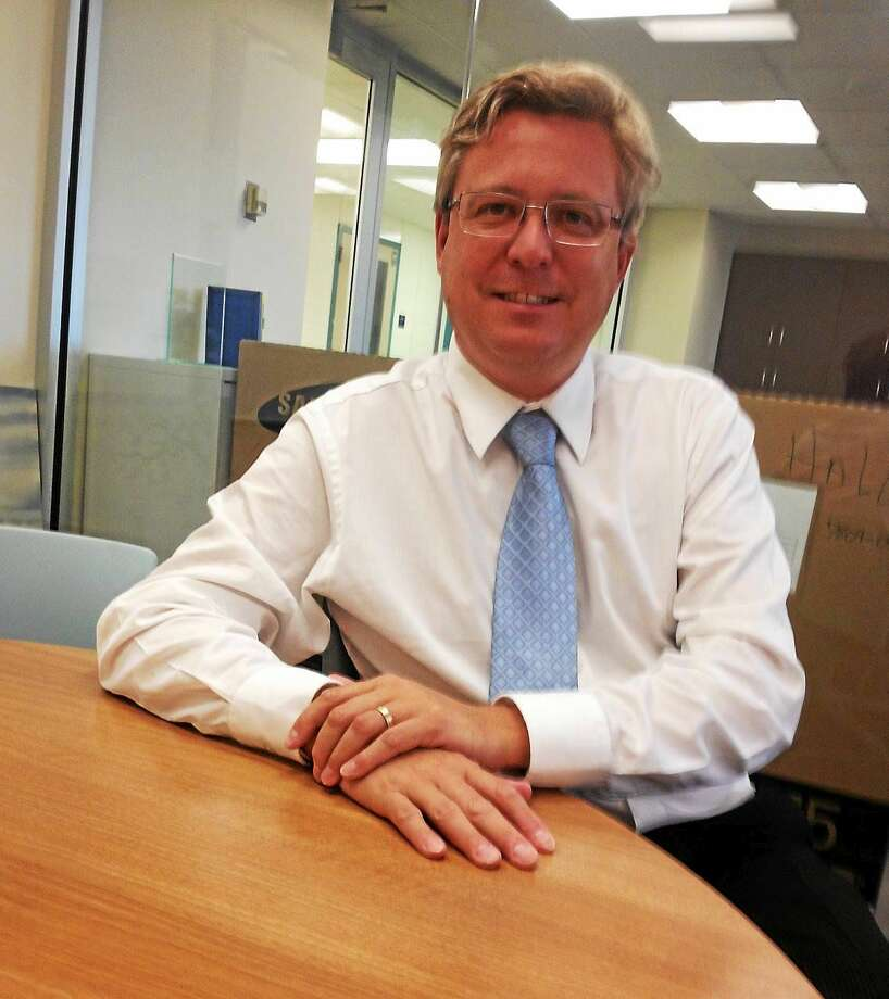 (Mary O'Leary - New Haven Register) Stephen Hegedus, dean of the School of Education at Southern Connecticut State University, brought the school off probation in one year. Photo: Journal Register Co.