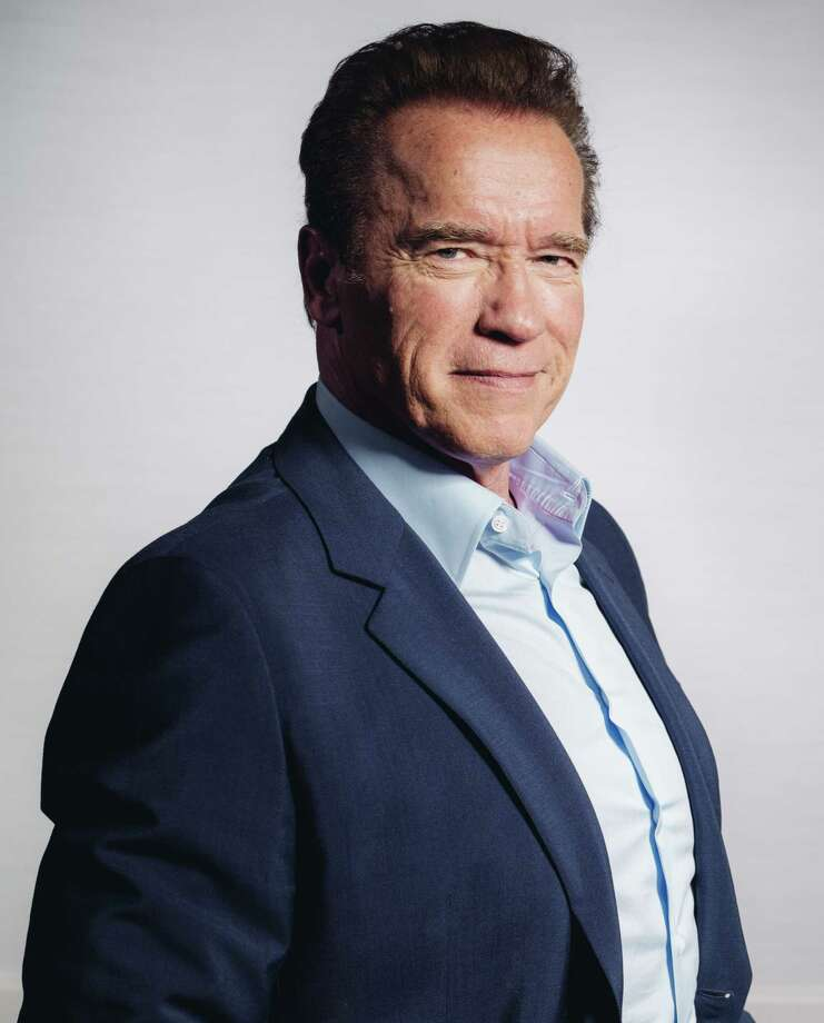 """In this March 22, 2015 photo, Arnold Schwarzenegger poses for a portrait during press day for """"Terminator Genisys"""" in Los Angeles. Schwarzenegger will try to fill Donald Trumpís shoes on """"The Celebrity Apprentice."""" NBC announced Monday, Sept. 14 that the movie star and two-term governor is the new host of the competition show, which will return to the network for the 2016 television season. Photo: Photo By Casey Curry/Invision/AP, File   / Invision"""