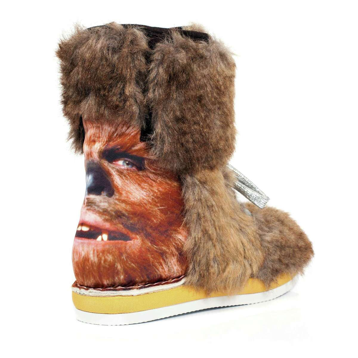 This photo provided by Disney Consumer Products shows a boot from the unique irregular Choice Star Wars shoe collection.