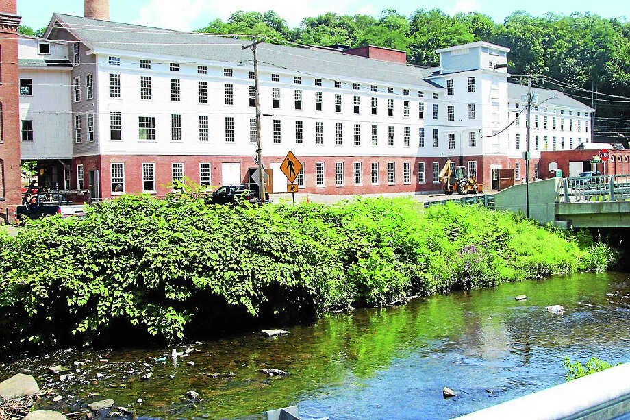 Hockanum Mill was a brownfield site. Photo: Journal Register Co.