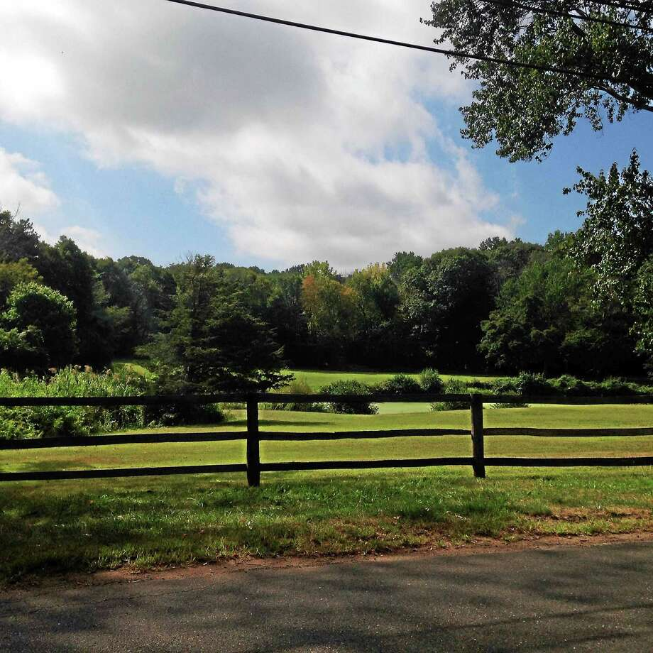 In June, Quinnipiac paid $4.2 million for this land at 999 and 1001 Mount Carmel Ave. in North Haven for a possible equestrian center. Photo: Kate Ramunni/New Haven Register