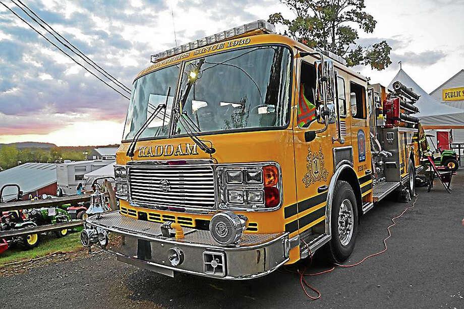 Courtesy photo Haddam Volunteer Fire Company Photo: Journal Register Co.