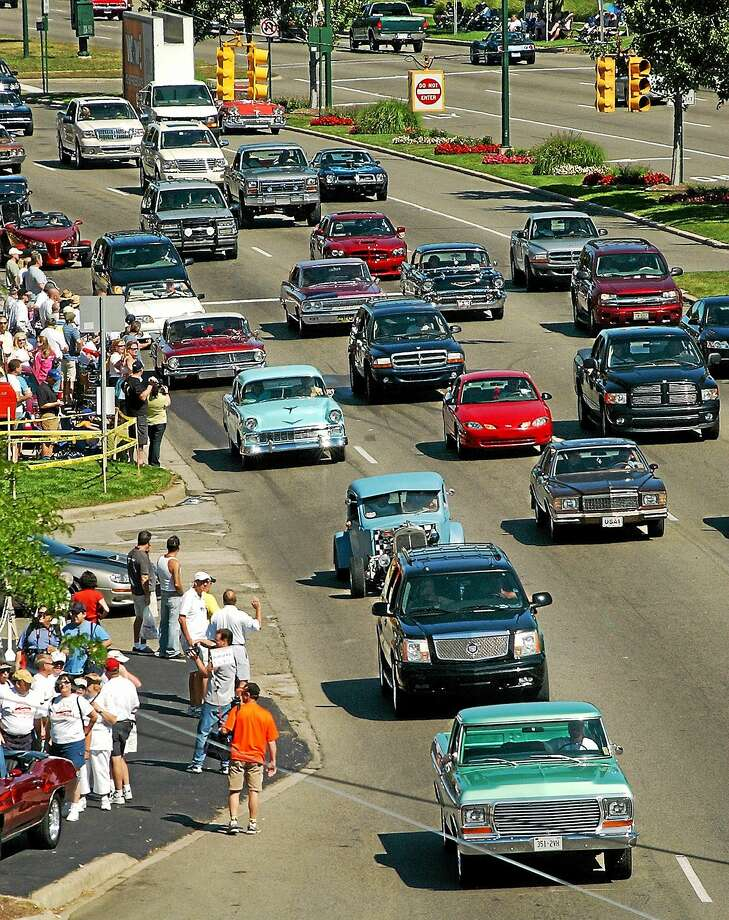 Many past attendees of the Woodward Dream Cruise have noted traffic and congestion as the largest detractors of the annual event. Digital First Media file photo Photo: Digital First Media  / The Oakland Press