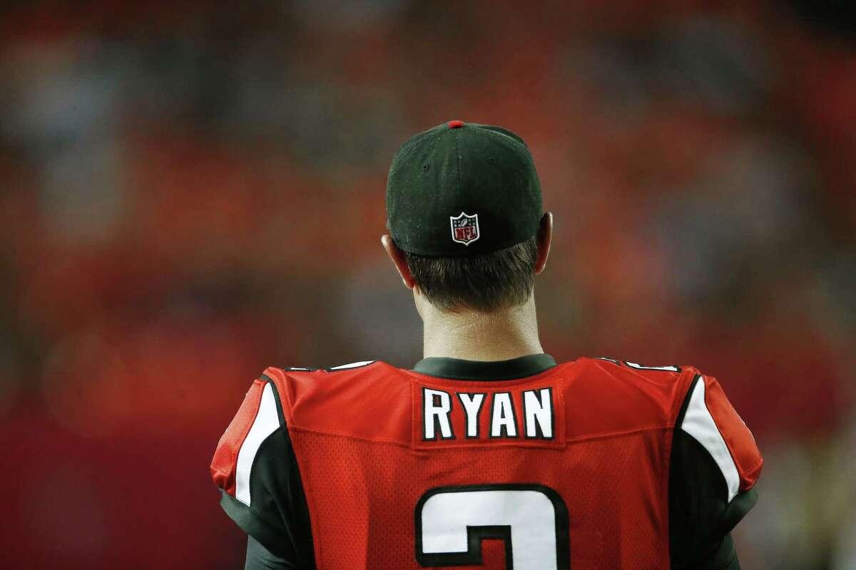 Quarterback Matt Ryan will look to lead the Falcons to an upset over the Philadelphia Eagles on Monday in Atlanta.