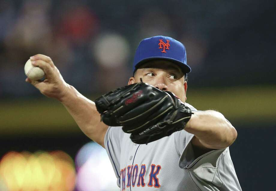 Bartolo Colon and the New York Mets have moved into the top 5 of the Register MLB Rankings. Photo: John Bazemore — The Associated Press   / AP