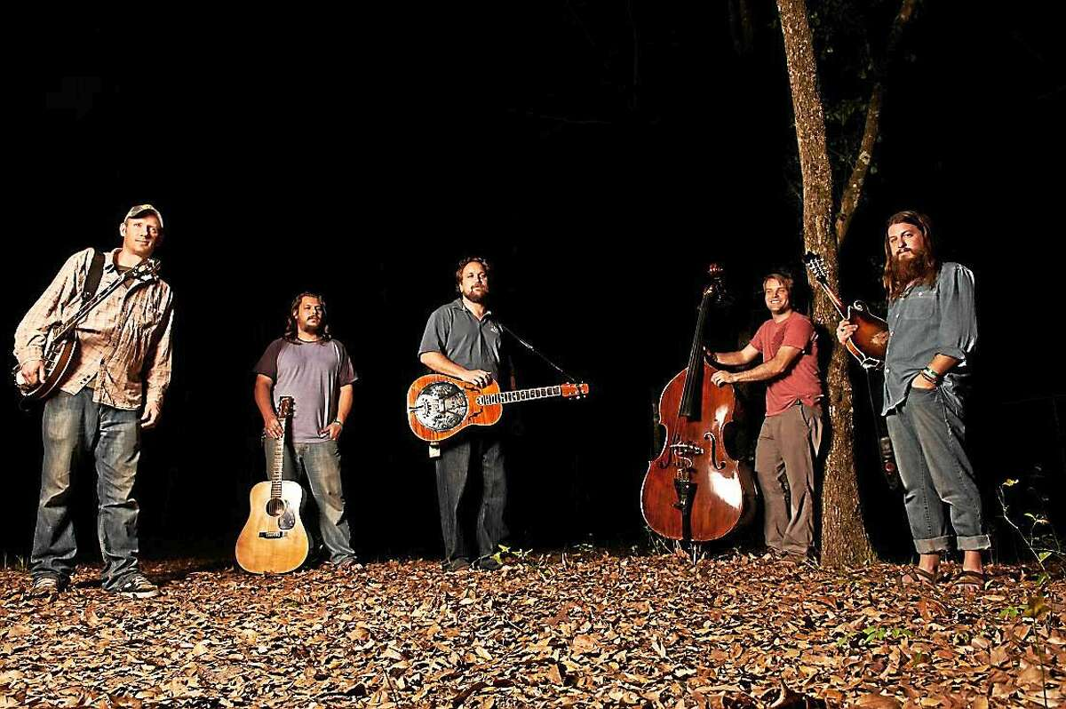 """""""We're a bluegrass band and a rock band,"""" says one Greensky Bluegrass band member."""